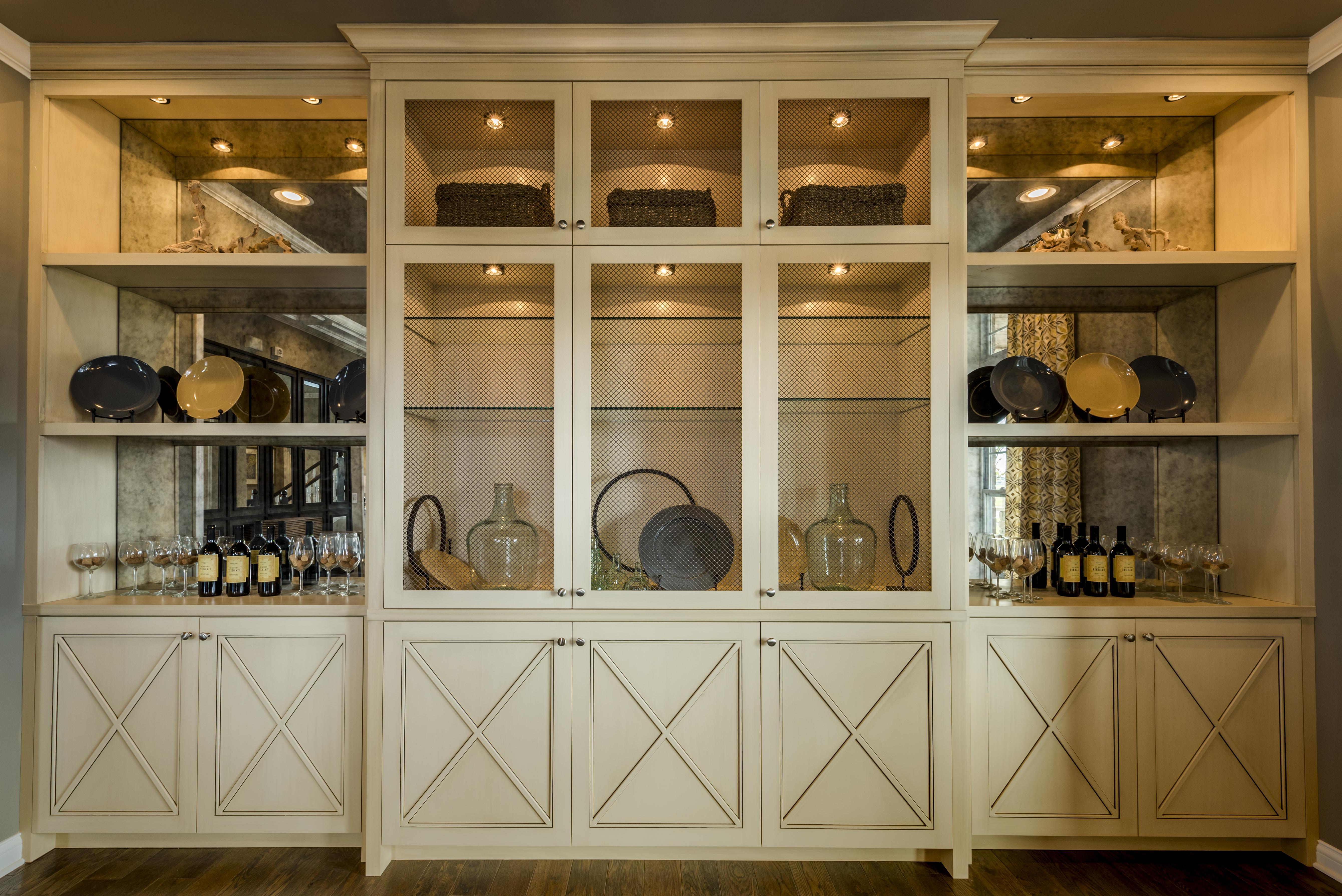 Dining Room Built Ins Dining Room Builtin  Innerwood  Mi Homes